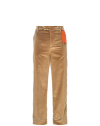 Pantalon large marron clair The Gigi