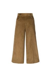 Pantalon large marron See by Chloe