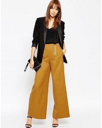 Pantalon large moutarde Asos