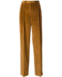 Pantalon large moutarde Mulberry