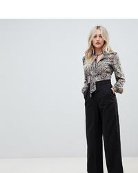 Pantalon large noir Asos Petite