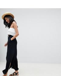 Pantalon large noir Asos Tall