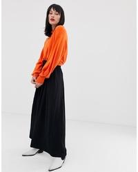 Pantalon large noir In Wear
