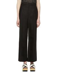 Pantalon large noir Isabel Marant