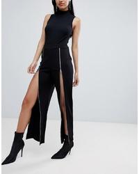 Pantalon large noir Lasula