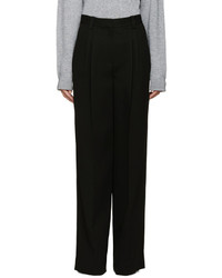 Pantalon large noir Marc Jacobs