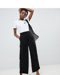 Pantalon large noir Vero Moda Petite
