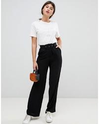 Pantalon large noir Vila