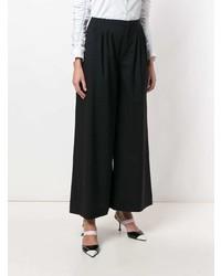 Pantalon large noir Lanvin