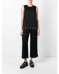 Pantalon large noir Christopher Kane