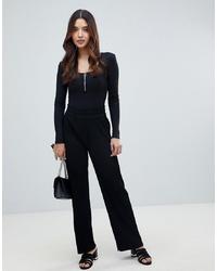 Pantalon large noir Y.a.s