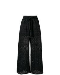 Pantalon large noir Zimmermann