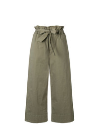 Pantalon large olive Frame Denim