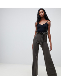 Pantalon large olive In The Style Tall