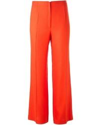 Pantalon large orange Jean Paul Gaultier