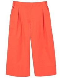 Pantalon large orange Mango