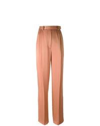 Pantalon large rose Lanvin