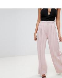 Pantalon large rose Missguided