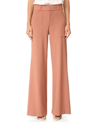 Pantalon large rose See by Chloe