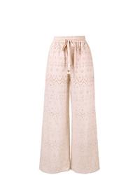 Pantalon large rose Zimmermann