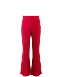 Pantalon large rouge Chloé