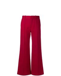Pantalon large rouge See by Chloe