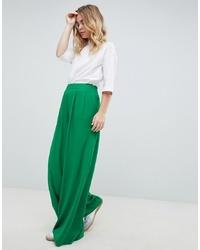 Pantalon large vert ASOS DESIGN