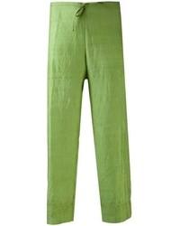 Pantalon large vert Dosa