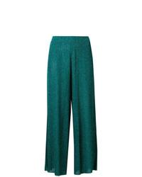 Pantalon large vert Mes Demoiselles