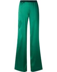 Pantalon large vert Missoni