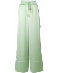 Pantalon large vert Off-White