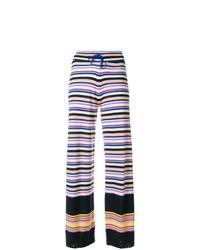 Pantalon large violet clair Barrie