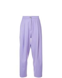Pantalon large violet clair Natasha Zinko