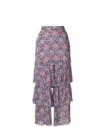 Pantalon large violet clair Philosophy di Lorenzo Serafini