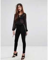 Pantalon noir French Connection