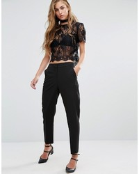 Pantalon noir Miss Selfridge
