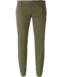Pantalon olive Dsquared2