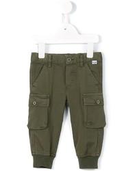 Pantalon olive Il Gufo