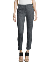 Pantalon slim a rayures verticales original 4264310