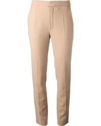 Pantalon slim beige Chloé