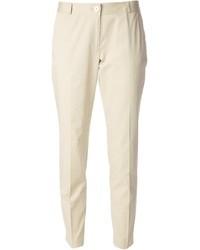 Pantalon slim beige MICHAEL Michael Kors