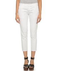Pantalon slim blanc Nili Lotan