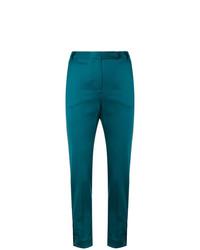 Pantalon slim bleu canard Styland