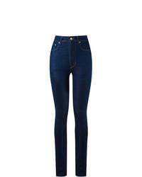 Pantalon slim bleu marine Amapô