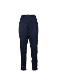 Pantalon slim bleu marine Barbara Bui