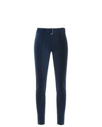 Pantalon slim bleu marine Gloria Coelho