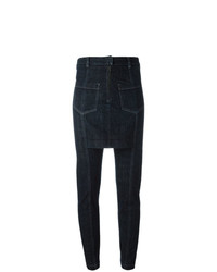 Pantalon slim bleu marine Maison Martin Margiela Vintage