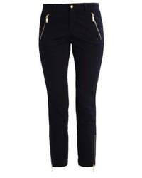 Pantalon slim bleu marine Michael Kors