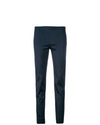 Pantalon slim bleu marine P.A.R.O.S.H.