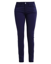 Pantalon slim bleu marine Tommy Hilfiger